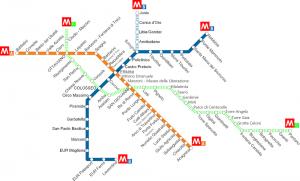 Rome Metro Map