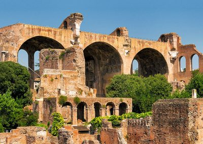Basilica of Maxentius & Constantine in the Roman Forum