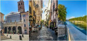 TRASTEVERE AREA ROME, ITALY
