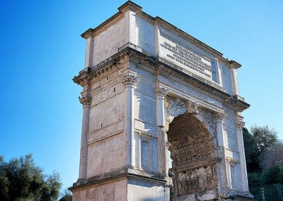 5 Facts about the Arch of Titus in the Roman Forum