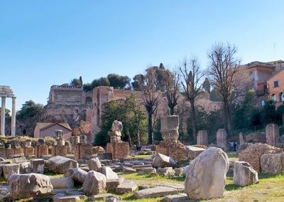 Basilica Julia in the Roman Forum