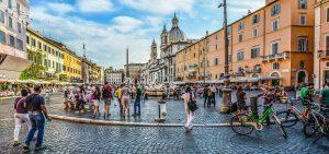Piazza Navona Area Rome