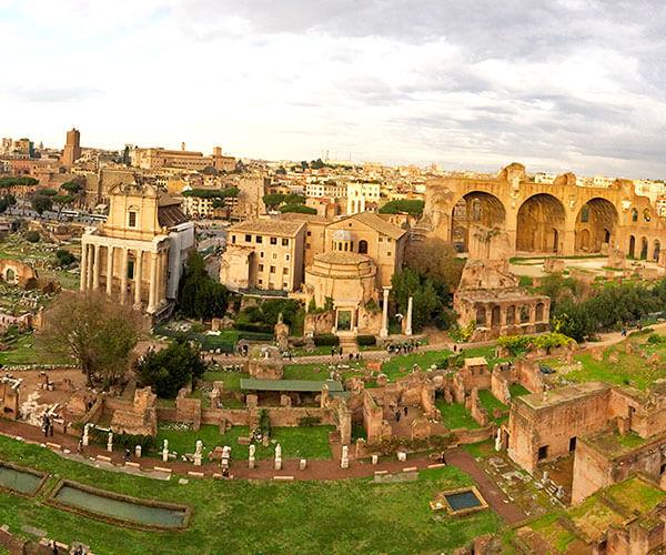 10 geriausių viešbučių – Koliziejus, Roma, Italija