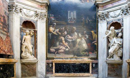 Santa Maria del Popolo: Caravaggio & Chigi Chapel
