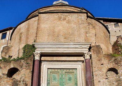 Temple of Romulus in the Roman Forum