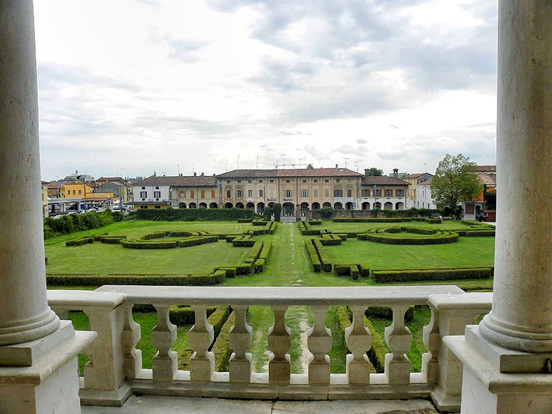 Villa Medici Balcon Roma Wonder