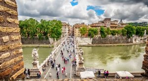 Bridge of Angels, Castel Sant'Angelo Rome