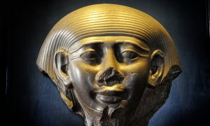 Head of Pharaoh Mentuhotep II Vatican Museums
