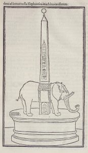"Elephant and Obelisk The Dream of Poliphilus"" by Francesco Colonna"