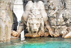 Lion Fountain of the Four Rivers