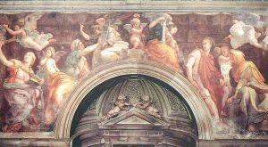 Raphael's Frescoes Santa Maria della Pace, the Sibyls