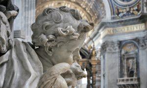 Angels Statues St Peter's Basilica