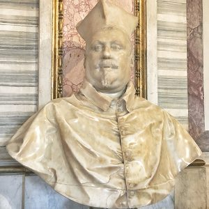 Bust of Cardinal Scipione Borghese by Bernini