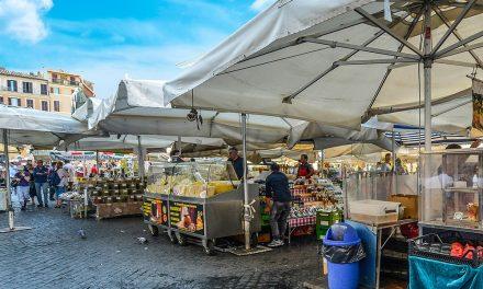 Campo de' Fiori Market Rome: Location and Hours