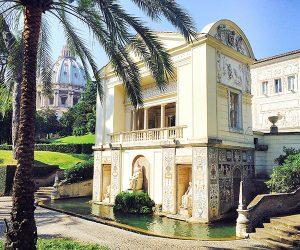 Casina Pius V Vatican Gardens