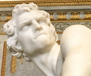 David by Bernini - Borghese Gallery Artwork