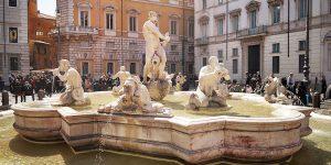Fontana del Moro Piazza Navona Rome