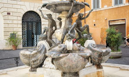 Fountain of Turtles & Piazza Mattei