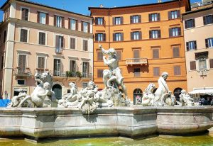 Neptune Fountain Rome Piazza Navona