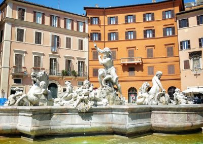 Fountain of Neptune in Rome