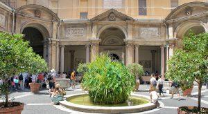 Octagonal Couryard Vatican Museums