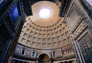 Pantheon Entrance, bronze doors