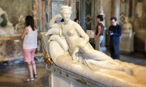 Pauline Borghese Canova Borghese Gallery Artwork
