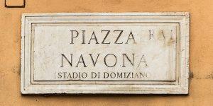 Stadio di Domiziano, Piazza Navona