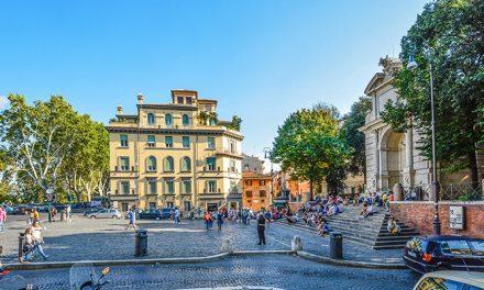 Piazza Trilussa in Trastevere