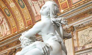 Bernini's Rape of Proserpina Borghese Gallery Artwork