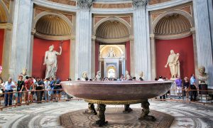 Round Hall Vatican Museums
