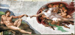 Creation of Adam Sistine Chapel Ceiling
