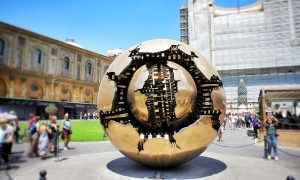 Sphere within a Shere Arnaldo Pomodoro Vatican