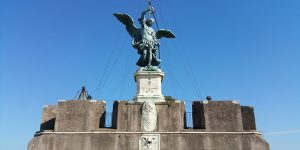 Angel Statue Castel Sant'Angelo Rome