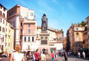 Statue of Giordano Bruno in Campo de' Fiori