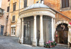 Tempietto del Carmelo Rome Jewish Ghetto