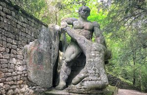 Struggle between Giants, Hercules & Caucus Bomarzo
