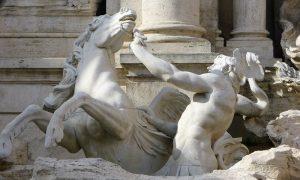 Bacci Trevi Fountain Tritons