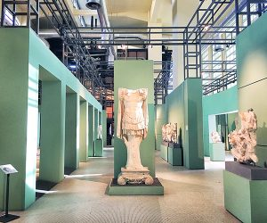 Ancient Statues in Centrale Montemartini Rome