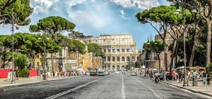 Rome walking tours colosseum