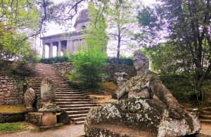 The Temple in Bomarzo Park of Monsters