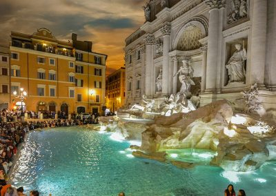 Trevi Fountain in Rome Info & Location