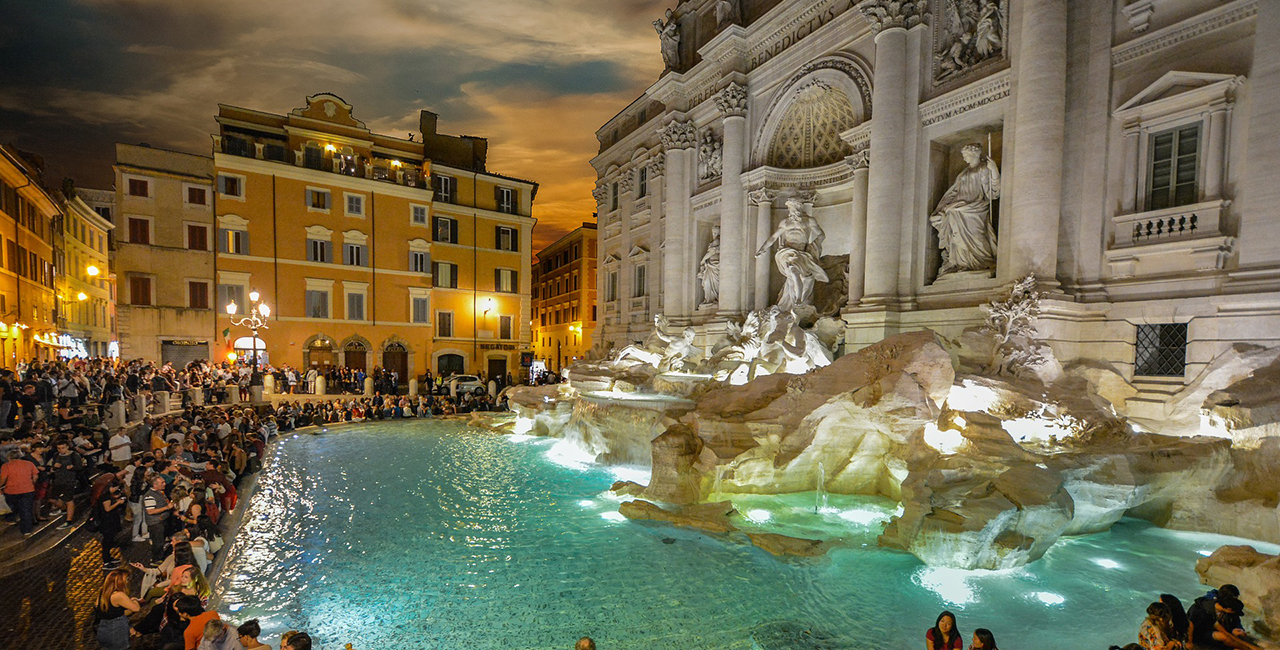 Rome Subway Map To Trevi Fountain Spanish Steps.Visiting The Trevi Fountain In Rome Italy Roma Wonder