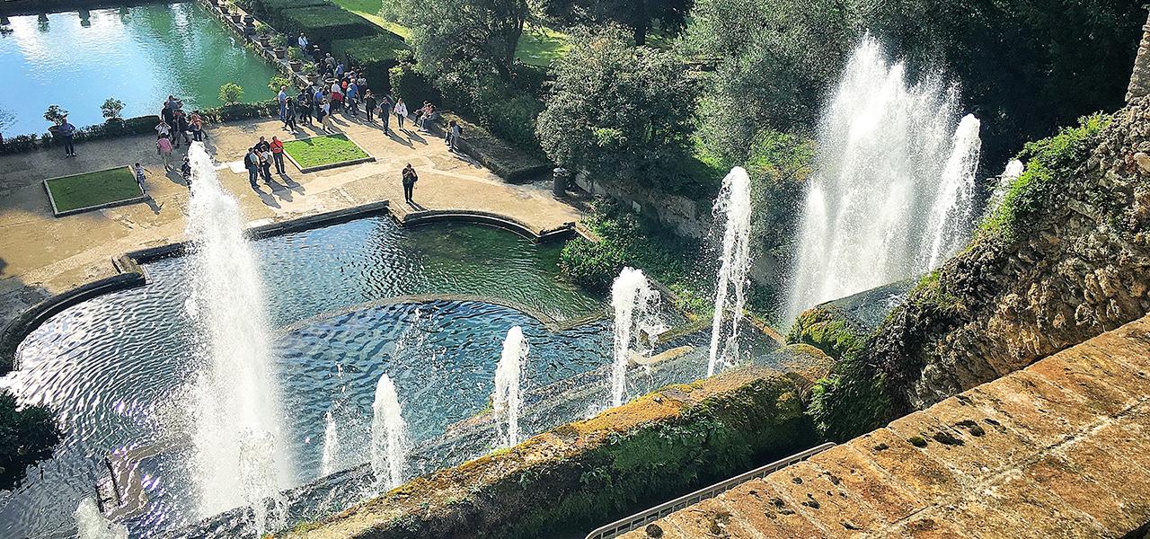 Villa D Este Tivoli Gardens Roma Wonder