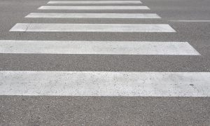 Zebra Crossing in Rome