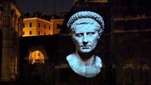 Forum of Augustus Light Show