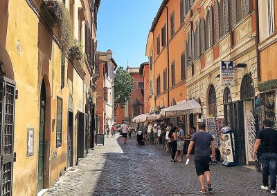 Free Walking Tour of Trastevere Rome