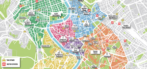 Rome Tourist Map PDF