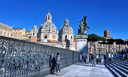 Rome in December 2017, Weather & Temperature