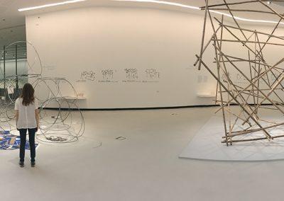 Yona Friedman MAXXI Museum Exhibit Rome 2017